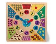 Puzzle ceas