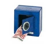 Puşculiţă seif albastră