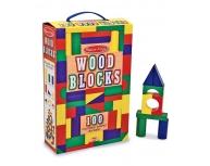 Set cuburi construcţie lemn