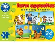 Puzzle imagini opuse engleză