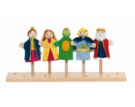 Set marionete Regele Broscoi