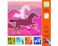 Set şabloane cai