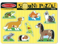 Puzzle sonor animale