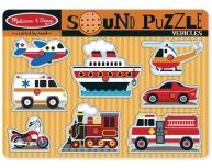 Puzzle sonor Mijloace de transport