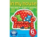 Set 6 puzzle obiecte din casă