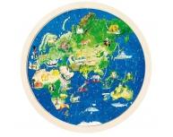 """Puzzle """"Globul Pământesc"""""""