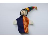 Marionetă mică Arlechin