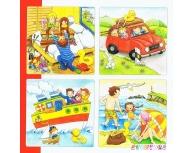 Puzzle 4 straturi În vacanţă