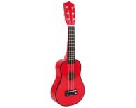 Chitară lemn roşie