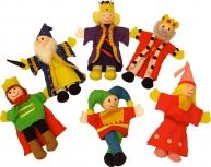 Set marionete Familia Regală