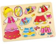 Puzzle îmbracă fetiţa