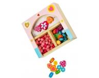 Set accesorii pentru bijuterii roz