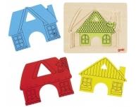 Puzzle straturi Casa
