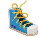 Pantof cu şiret bleu