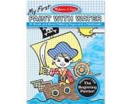 Pictură cu apă - bleu