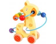 Maşinuţă spirală girafă