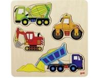 Puzzle maşini 12 piese