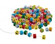Set cuburi litere colorate