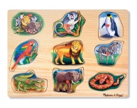 Puzzle sonor clasic Zoo