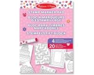 Planşe creative cu ştampile roz