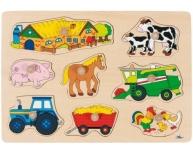 Puzzle fermă