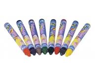 Set 8 creioane ceară pentru ţesături