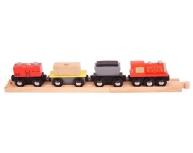 Trenuleţ cu şină şi magnet