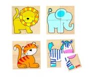 Puzzle Karemo – animale sălbatice