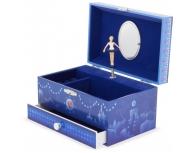 Cutie muzicală cu sertar Paris blue