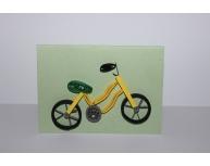 Felicitare bicicletă