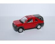 Maşinuţă Welly - Land Rover 2001 Roşu