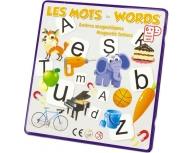 Formează cuvinte engleză-franceză