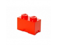 Cutie depozitare 1x2 LEGO roşie