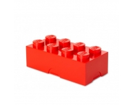 Cutie sandwich 2x4 LEGO roşie
