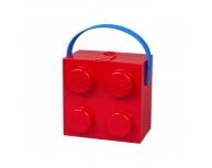 Cutie sandwich 2x2 LEGO roşie