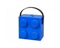 Cutie sandwich 2x2 LEGO albastră