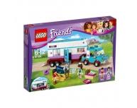 Rulota veterinară pentru cai Lego Friends