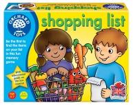 Joc educativ lista de cumpărături