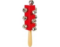 Instrument cu clopoţei roşu