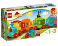 Trenul cu numere Lego Duplo