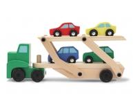 Camion cu 4 maşinuţe