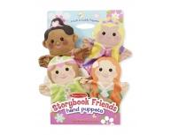 Set 4 marionete mână prinţese