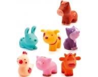 Set 7 animale fermă