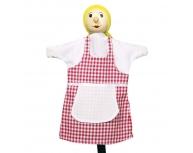Marionetă pentru palmă fetiţă Gretel 27 cm