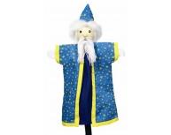 Marionetă pentru palmă magician 27 cm