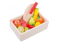 Set fructe cu arici în cutie
