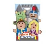 Set 4 marionete pentru palmă, Palatul Regal