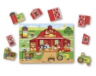 Puzzle sonor la fermă