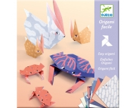 Joc creativ origami animale familii