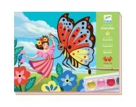 Atelier pictură fluture
